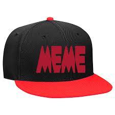 Meme Snapback - meme snapback flat bill hat 125 978 125 9782047 custom heat