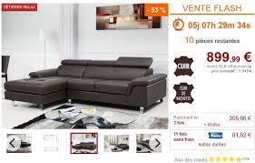 vente flash canapé vente flash canape d angle maison design hosnya com