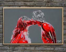 figure painting etsy
