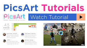 picsart tutorial motion watch mtc tutorials on youtube learn computer software for free