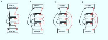 wiring a small solar battery bank solar panels solar panels forum