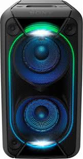 sony high powered bluetooth light up speaker gtk xb5 sony powered wireless 2 way speaker each black gtkxb90 best buy