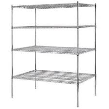 Heavy Duty Garage Shelving by Seville Classics 72 In X 60 In X 24 In 5 Shelf Ultrazinc Steel