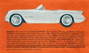corvette dealers corvette articles 1953 corvette dealers sales brochure