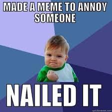 Annoying Memes - annoying meme baby quickmeme