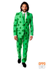 stylish mens halloween costumes men u0027s opposuits green st patrick u0027s day suit
