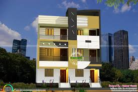 Twin Home Floor Plans Twin House Architecture Sameer Kerala Home Design And Floor Plans