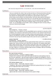 Cook Resume Samples by Chef Resume Sample Experience Resumes Sous Chef Cv Sample