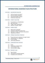 international business plan template eliolera com