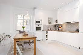 cuisine sol blanc noir blanc un style