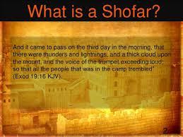 shofar trumpet shofar presentation israel mission trip 2013