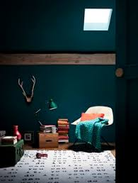 Green Wall Bedroom by Trend Crush Dark Interior Paint Colors Dark Interiors Green