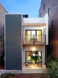house plans for a narrow lot narrow house designs wamhf info