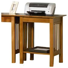 Mission Furniture Desk Atlantic Furniture Mission Printer Stand In Caramel Latte