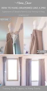 Curtains And Draperies 2 Tips On How To Hang Curtain And Drapery Like A Designer
