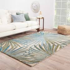 Green Area Rug Havenside Home Shelter Island Handmade Floral Blue Green Area Rug