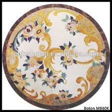 china high quality marble floor medallion mosaic floor tile marble