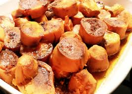 sweet potato thanksgiving side dish roasted sweet potatoes with brown sugar and cinnamon the partial