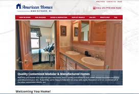Home Builder Website Design Inspiration by Web Site For Hayward Wisconsin Modular U0026 Manufactured Home Builder