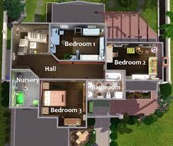 Suburban House Floor Plan by Mod The Sims Spanish Suburban