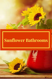 nature inspired home decor archives color and style decorate with sunflower bathroom accessories