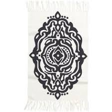 Woven Rugs Cotton Tompkins Printed Rug 149 Liked On Polyvore Featuring Home