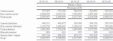 Interim Balance Sheet Template Free Translation From The Original Prepared In For