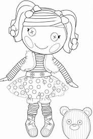 lalaloopsy doll coloring pages ember flicker flame at itgod me