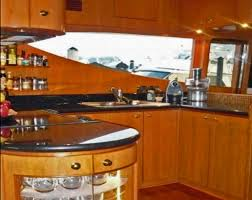 Kitchen Galley Chico Ca Lady Margaret Yacht Charter Motor Boat Ritzy Charters