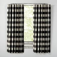 Black And White Bedroom Drapes Kids Curtains Bedroom U0026 Nursery The Land Of Nod