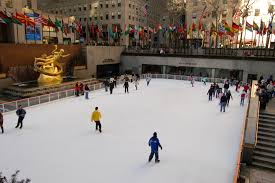 file the ice rink at the bottom of the ge building 30 rock