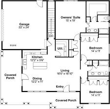 16 x 24 floor plans cabin home pattern 3 bedroom 2 bath house plan alp 097f allplans