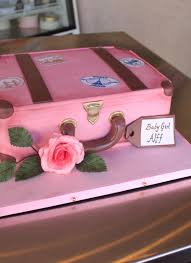 suitcase baby shower cake whipped bakeshop