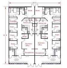 Floor Plan For Office Floor Plan For 56x61 Modular Medical Clinic Tina U0026 Al Wip