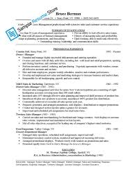 Sample Senior Management Resume Grocery Manager Resume Resume For Your Job Application