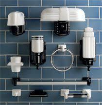 retro bathroom light fixtures rejuvenation chandler streamline porcelain towel ring bath