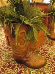 Cowboy Boot Planter by Big Cowboy Boot Planters Need These Laura Pinterest цвета