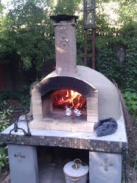 diy backyard brick oven outdoor furniture design and ideas