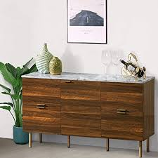 mid century modern walnut kitchen cabinets gracious sideboard cabinet mid century modern console storage buffet credenza cabinet faux marble top with 4 drawers and 1 door for living