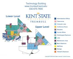 Ohio University Map by Directions U0026 Maps Kent State University