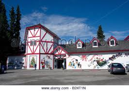 santa claus house north pole ak santa claus north pole alaska stock photo 3157143 alamy