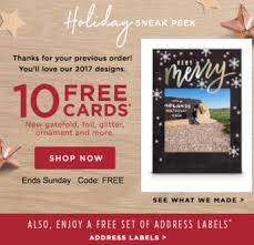 shutterfly black friday 10 free cards free address labels from shutterfly baby cheapskate