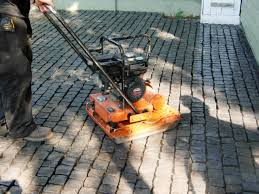 Make Your Own Patio Pavers How To Install A Cobblestone Patio On Concrete Or Bare Soil How