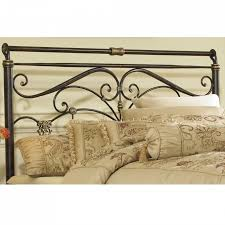 Iron And Wood Headboards Bedroom Appealing Wrought Iron Headboard For Inspiring Bed Frame