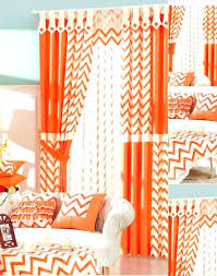 Sheer Curtains Orange Orange Sheers Curtains Burnt Orange Blackout Curtains Beautiful