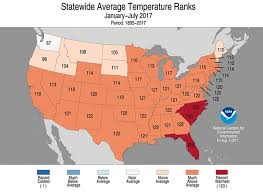 Where Is Alaska On The United States Map by July Was Record For Parts Of Alaska And The West Climate Central
