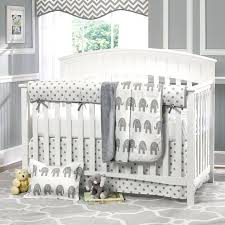 Elephant Crib Bedding Sets Beautiful Baby Nursery Ideas The Gray Chevron Elephant Crib