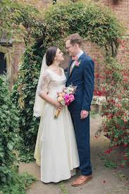 a 1940s vintage gown bow ties and pink peonies for a town and
