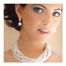 earing model ellie colored pearl earrings