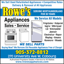 rowe s used furniture and appliances appliances repair rowe s used furniture and appliances appliances repair cobourg on phone number yelp